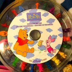 Pooh Character Crayons 🖍